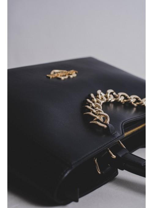 Moschino Love bolsos Bolso De Shopping Negro