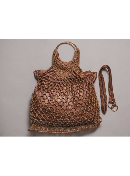 Kontessa Bolso red bronce