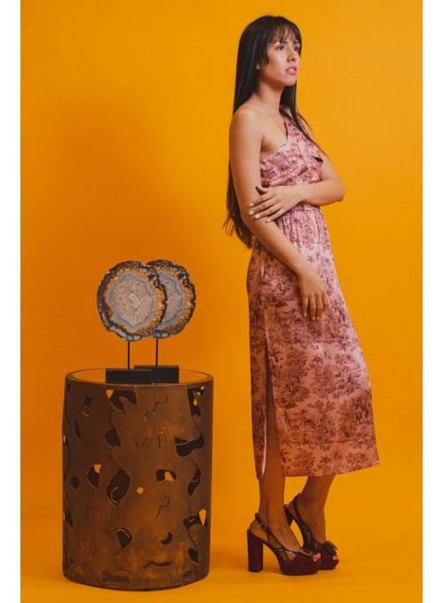 Cristina Beautiful life Vestido Estampado Selva Rosa
