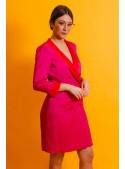 Cristina Effe Vestido Cruzado  Bicolor