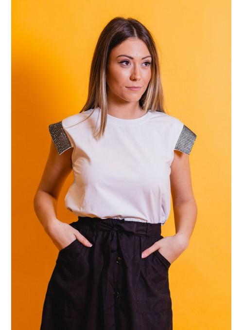 Silvian Heach Camiseta brillos