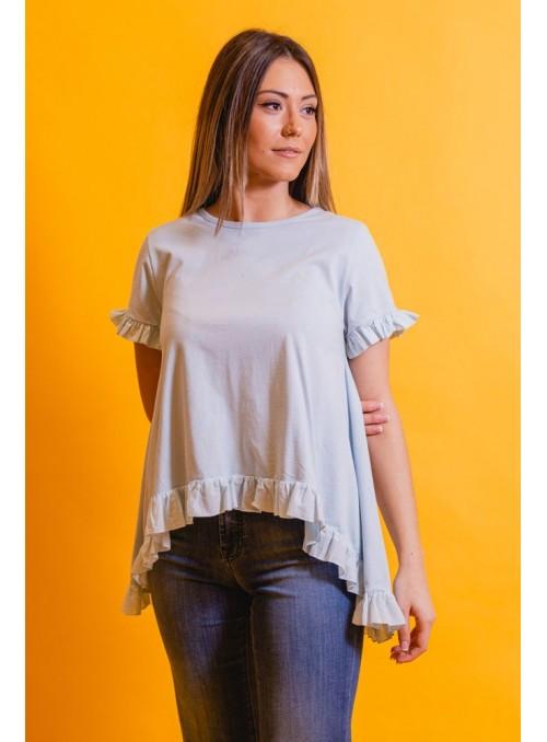 BSB Camiseta celeste mini volante