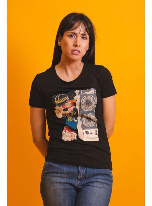 VOSSO Camiseta Mickey altavoz