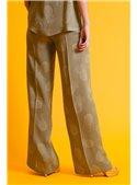 Twin Set Pantalón Estampado Piñas