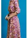 Dixie Vestido camisero multicolor