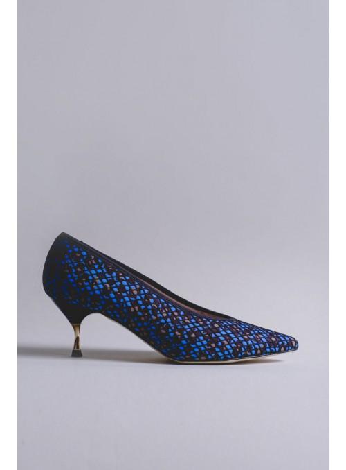 VOSSO Zapato rejilla estampado print