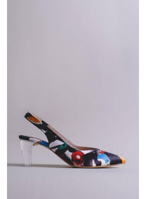 VOSSO Zapato destalonado print picassiano