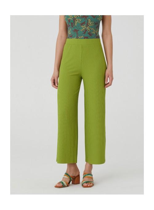 Nice Things Pantalón culotte plisado