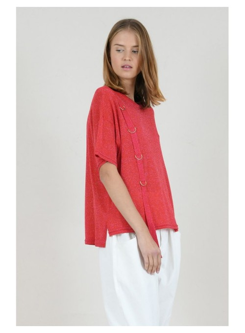 Lili Sidonio Camiseta cinta aros