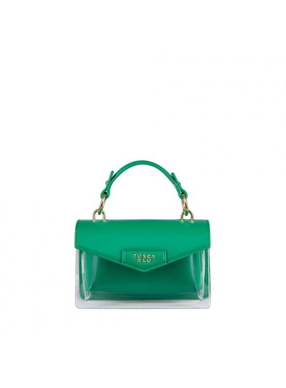 Tosca Blu Bolso mini transparente verde