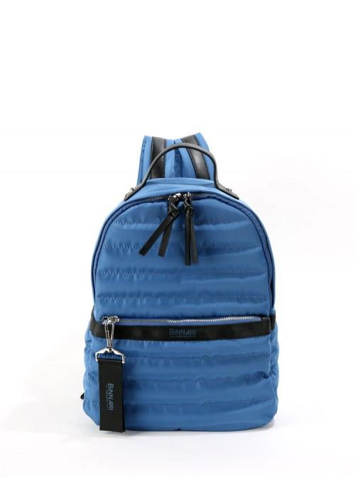 Binnari Mochila acolchada azul