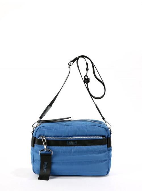 Binnari Bandolera acolchada azul