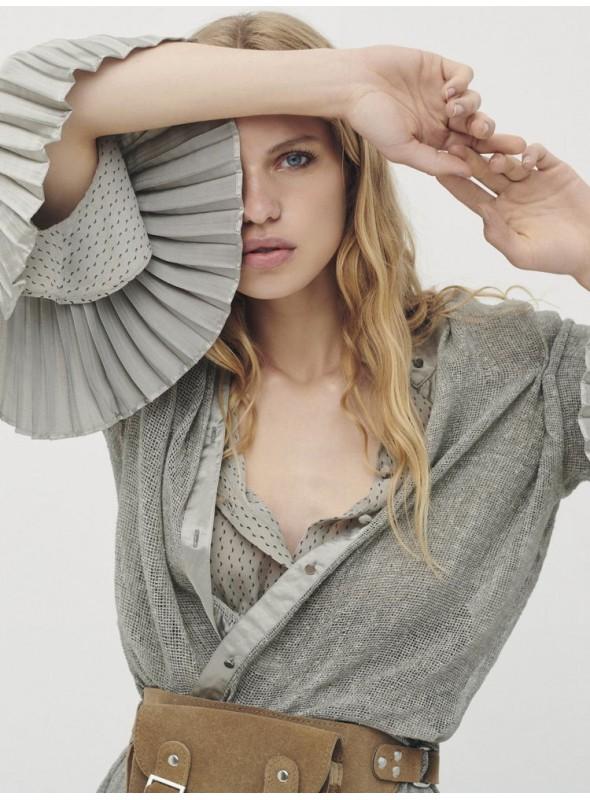 Nu Woman Camisa calada gris