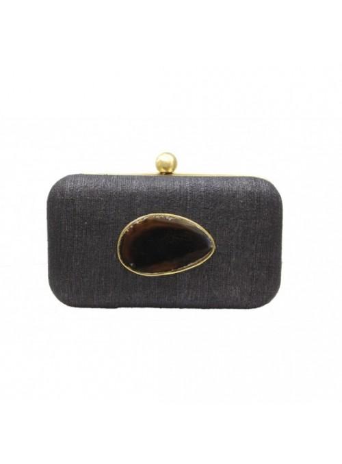 Vossochic Clutch negro cuarzo
