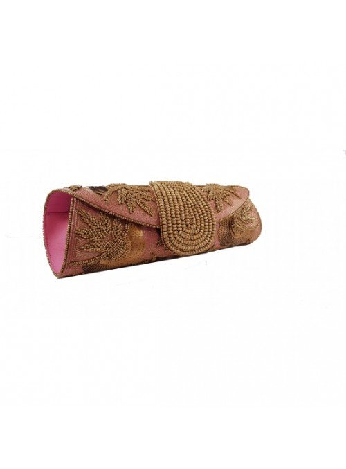 Vossochic Clutch cilíndrico rosa