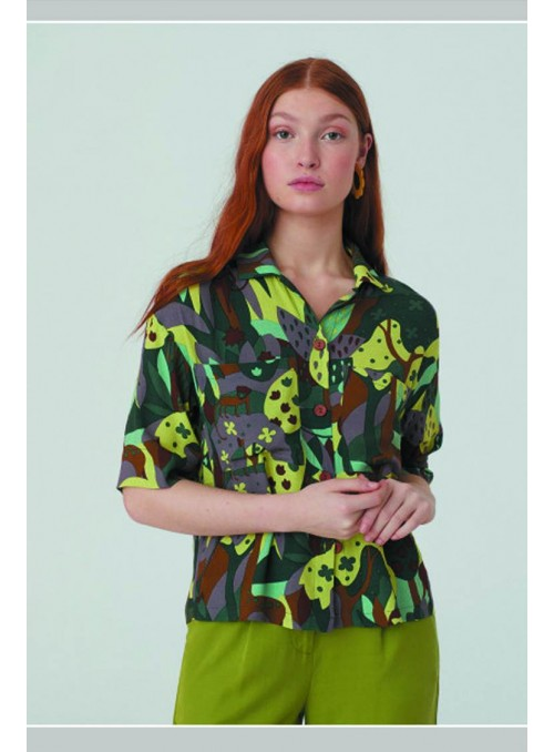 Nice Things Camisa bosque