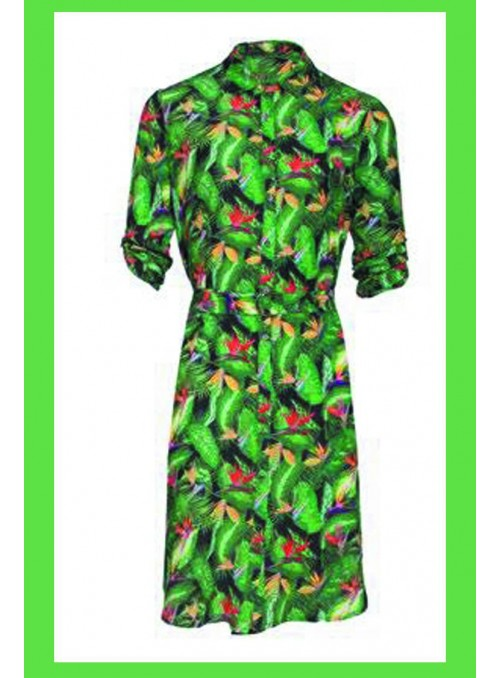 Smash Lemon Vestido tropical