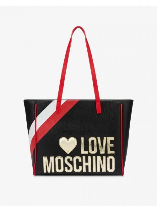 Moschino Love bolsos Bolso shopper Love Moschino negro