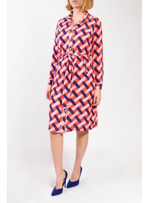 Parole Vestido estampado carlota coral