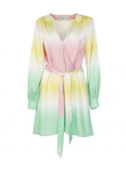 Silvian Heach Vestido mini multicolor