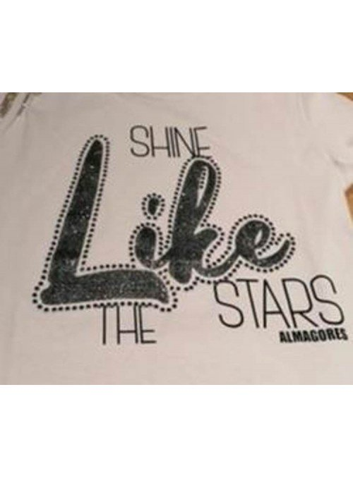Almagores Camiseta Life Glitter