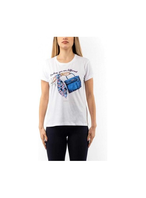 Lucky Lu Camiseta estampado bolso