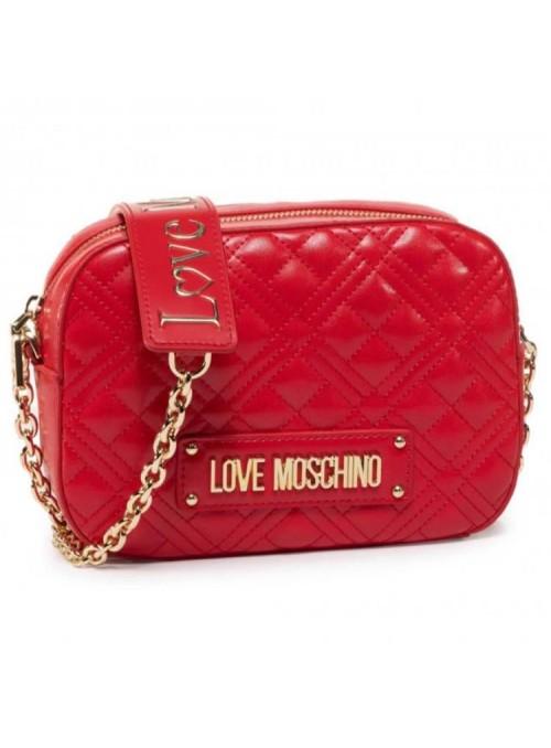 Moschino Love bolsos Bandolera acolchada roja