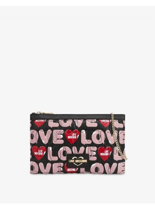 Moschino Love bolsos Bolso shopper estampado love
