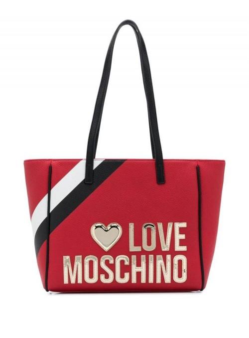 Moschino Love bolsos Bolso shopper Love Moschino rojo