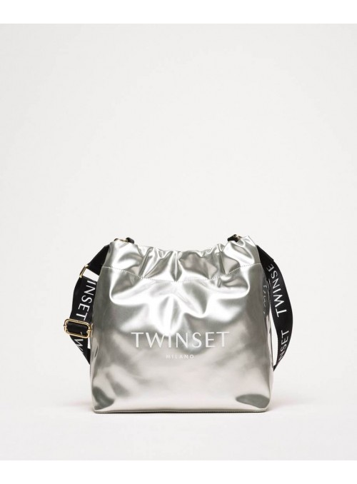 Twin Set Bolso shopprer Plata
