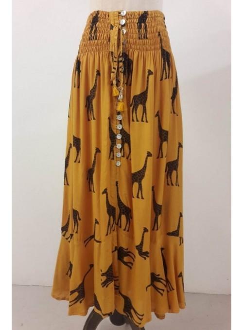 Monisqui Falda larga girafas