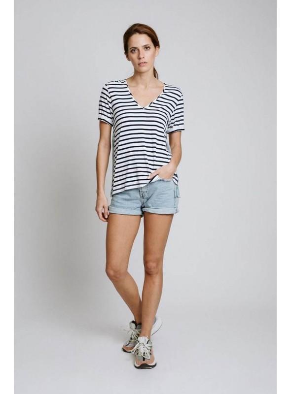 Pisonero Camiseta marinera espalda nadadoras