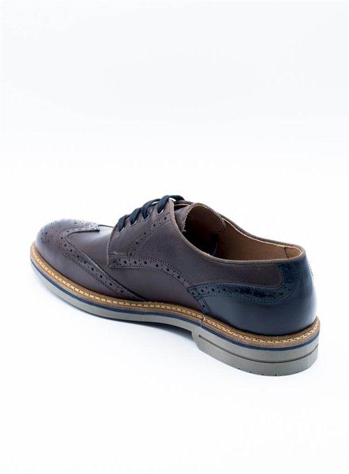 Ambitius Zapato Marrón Troquelado