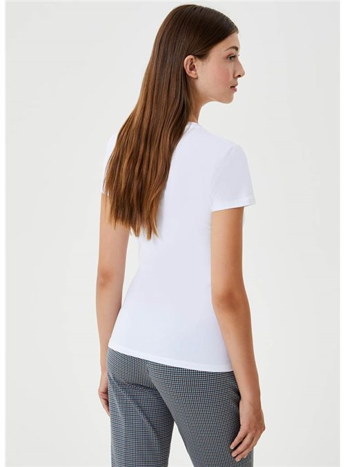 Liujo Camiseta Estampado Chica Tweed