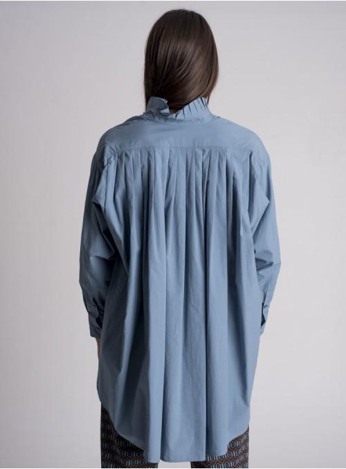 Otto d ame Camisa Popelin Azul
