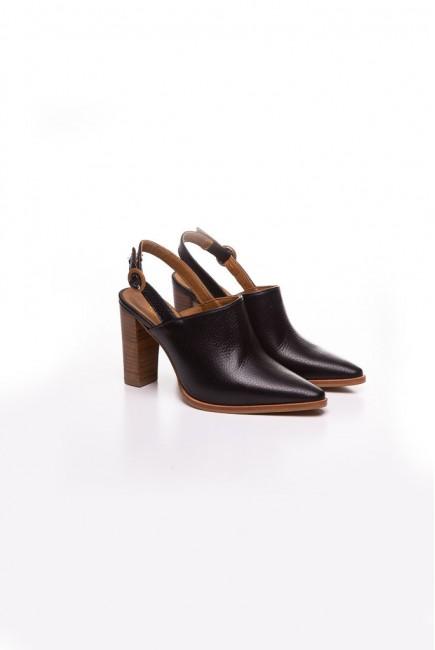 VEXED Zapato Destalonado Negro