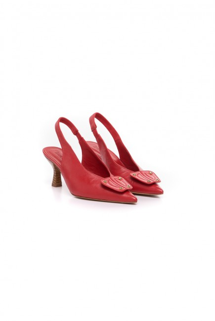 Dura & Dura Zapato Rojo Pieza