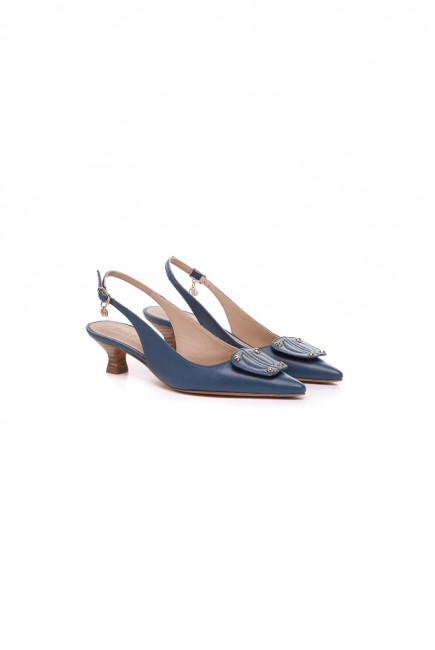 Dura & Dura Zapato Azul Pieza
