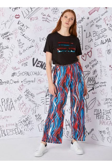 Lucky Lu Pantalones Colores