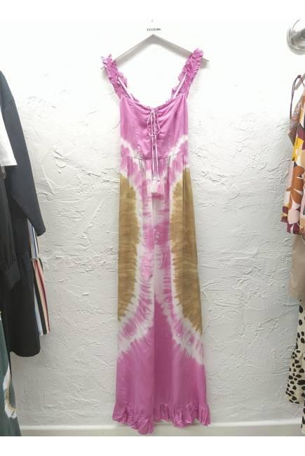 Melé Beach Vestido Dress Rosa
