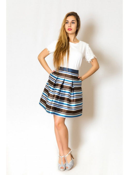 Essentiel Falda rayas